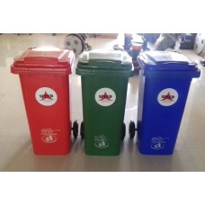 Plastic wheel Dustbin 120 Ltrs