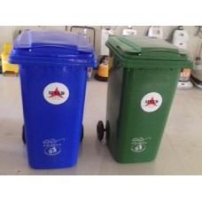 Plastic Dustbin 240 Ltrs