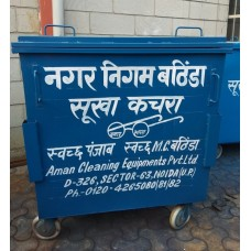 Iron Garbage Container 1100 Ltrs