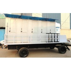 Mobile Toilet 10 Seater