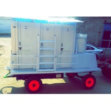 bio mobile toilet 6 Seater