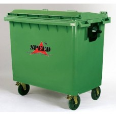 Plastic wheel Dustbin 660 Ltr