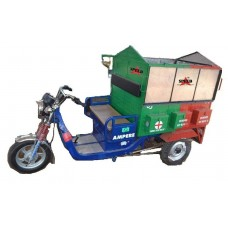 Battery Operated E-Rickshaw Tipper