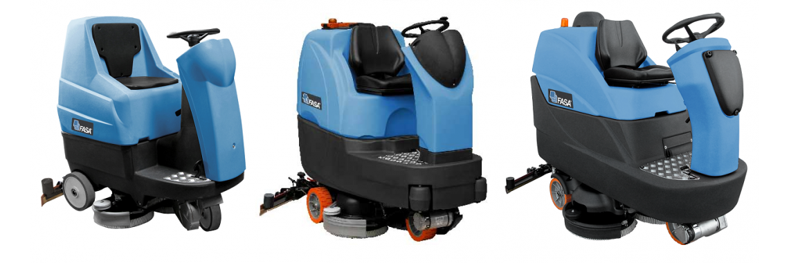 Floor Scrubber Rider Machine