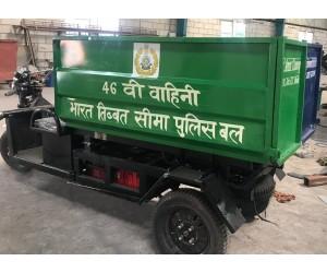 E-Rickshaw Garbage Tipper